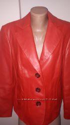 uk 16р кожа куртка Gerry Weber состояние новой кожа класса люкс, мягкая, пр
