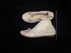36р-23. 5 кожа балетки Giovanni Lombardi Made in Italy