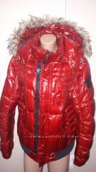 р xl Cinque Италия  пуховик в отличном состоянии очень теплый рукав от плеч