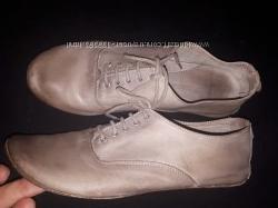 36р-23 см кожа туфли Emporio Armani
