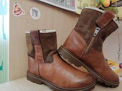 ПолуСапожки, ботиночки, Timberland натуральная кожа 32 р.