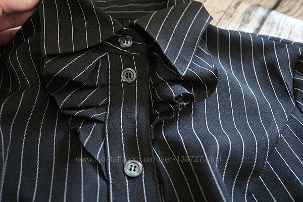Костюм офисный тройка р. S рубашка и юбка