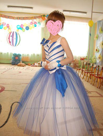 Выпускное платье, праздничное, нарядное