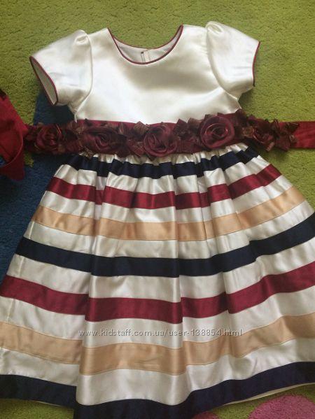 Нарядное, праздничное, выпускное платье 3-6 лет