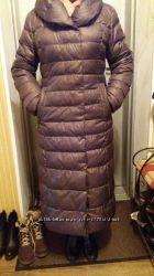 Пальто-пуховик зимний в идеале шоколад