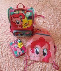 Рюкзак Kite My little pony пенал і сумка для змінного