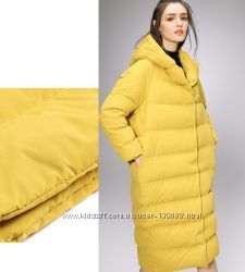 Самые яркие пуховые пальто-кокон  красота