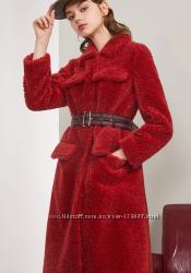 Ультрамодное пальто из овчинки шикарная вещь по доступной цене