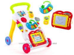 Интерактивная каталка-толкач для малышей