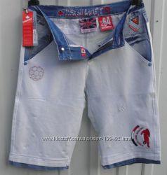 Бриджи крутые джинсовые удобные 46-48рр