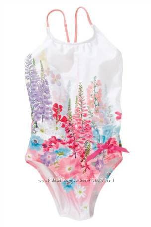 Яркий купальник от NEXT для девочки 3-4 года
