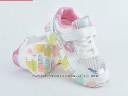 Летние кроссовки в сеточку для девочки 26-30