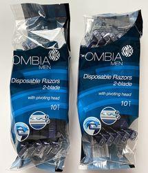 Чоловічі одноразові станки для гоління Ombia men 10 шт в упаковці