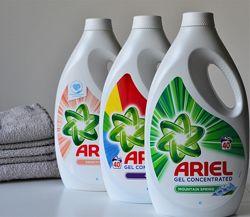 Ariel gel - Супер новинка - 5 видів - гель - 2. 2л - 40 прань