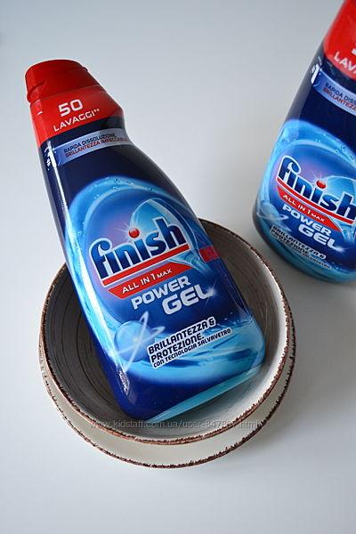 FINISH all-in-one все-в-одному - до 50 мийок - 1000мл Гель для посудомийок