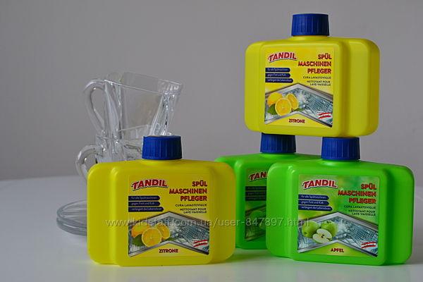 Tandil Classic. Tandil all-in-1. Таблетки та очищувач для посудомийних маши