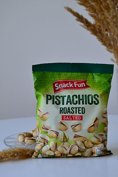 Pistachios roasted salted - фісташки - 250 грам