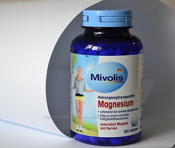Das gesunde plus - Mivolis - Magnesium Вітамінний комплекс Магнезіум 300 шт
