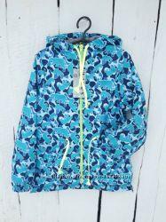 Куртка ветровка детская для мальчика, 80-130 см