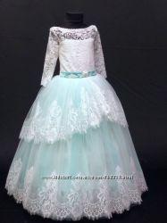 Платье нарядное очень красивое, эффектное для девочек от 4 до 7 лет-Новинка