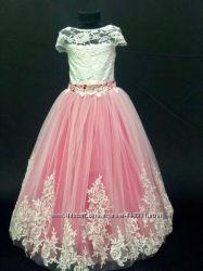 Платье нарядное очень красивое для девочек от 4 до 7 лет-Новинка-8 цветов