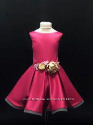 Платье нарядное для девочек от 4 до 7 лет-Новинка-больше 10 цветов-Хит лета