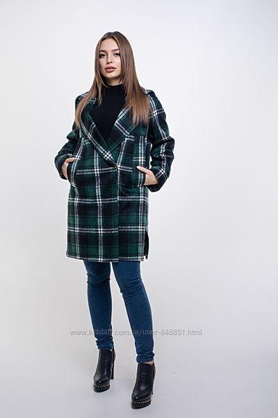 Пальто кашемировое деми молодёжное от 46 до 54 р-Новинка-3 расцветки-тренд
