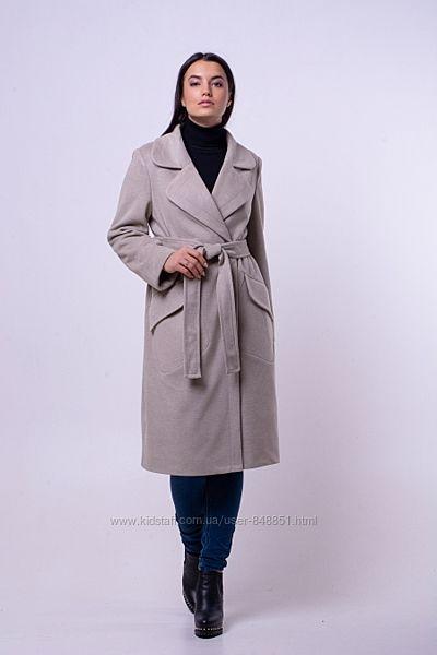 Пальто кашемировое ультрамодное молодежное от 46 до 54-новинка весны 2020