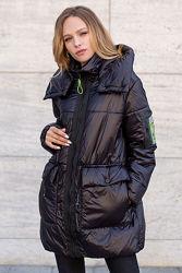 Куртка-парка демисезонная, молодежная, стильная от 46 до 52 р-Новинка осени
