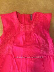 Шикарная фирменная блузочка naf naf на девочку 8 лет 128-134 см, идеал