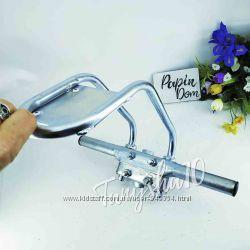 Подножки для ребенка на велосипед, крепление для косой рамы