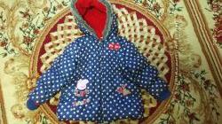 куртка TU на 3-4 года