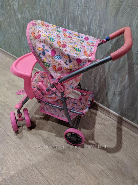 Коляска для кукол с поворотными колесами melogo