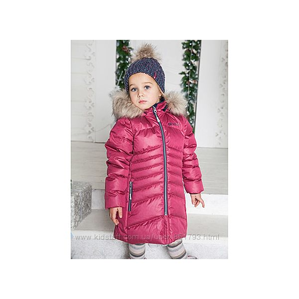 Нано Nano,  Канада - Пальто для девочек школьниц  до -30град.