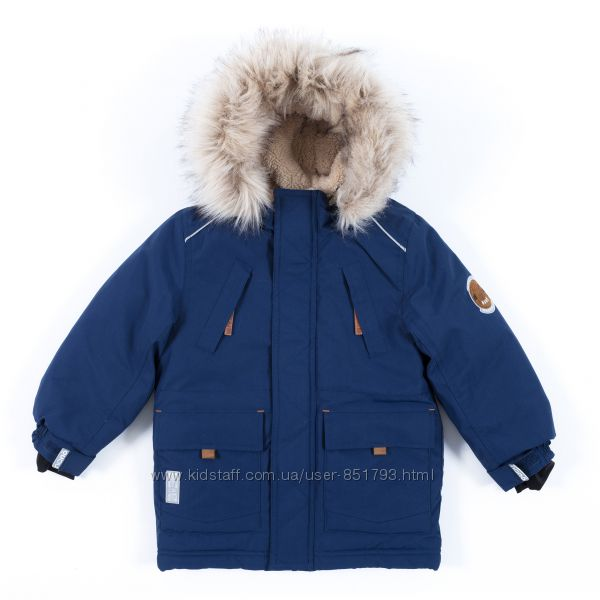 Куртка-парка для мальчиков до -30 град Nano Нано Канада от 12М до 14лет