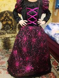 Платье  костюм хеллоуин