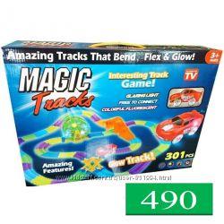 Трек Magic Tracks светящаяся трасса 301 деталь