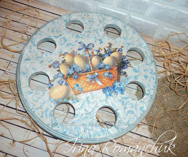 Куличница, Пасхальная тарелка для яиц