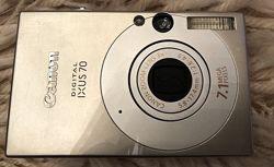Фотоаппарат Canon Digital Ixus 70