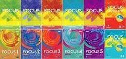 Комплект Pearson Focus 1, 2, 3, 4, 5 Students  workbook 2nd second edition