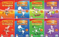 Playway to English 1, 2, 3, 4  Activity book  Pupil&acutes book