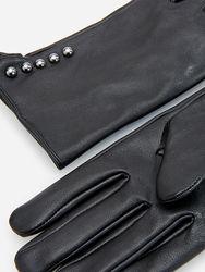 кожаные перчатки RESERVED оригинал