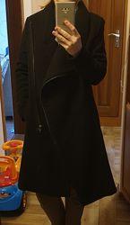 Новое шерстяное пальто НМ