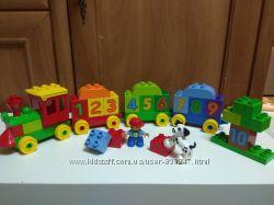 Lego Duplo Мой первый поезд - Учим цифры 31 дет. и др. детали