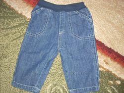 Тонкие джинсы для мальчика Mothercare на 3-6 мес