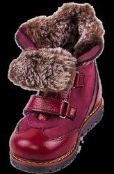 Детские зимние ботинки ортопедические на девочку