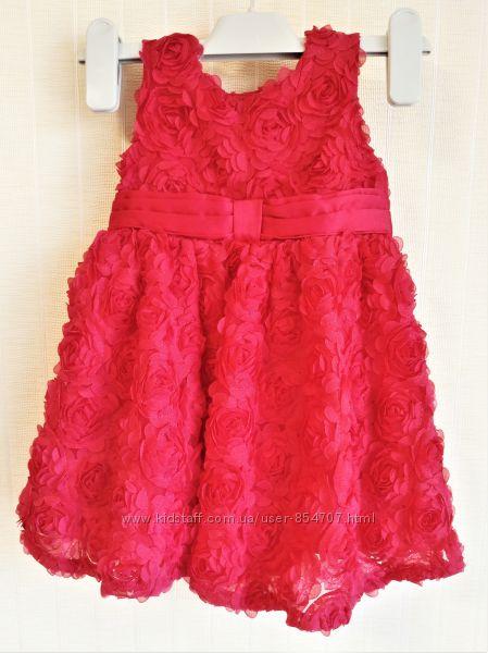 Платье детское Mini Club Размер 68-74см 6-9 мес 9 кг