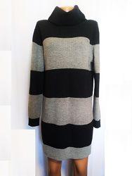 Платье женское трикотажное теплое свитер туника Tommy Hilfiger Denim Разме