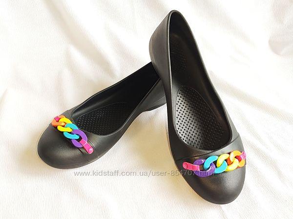 Балетки женские Crocs размер 38, USA6W