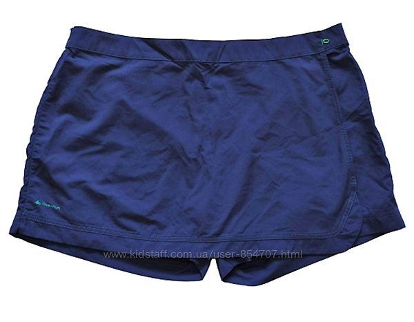 Шорты юбка с запахом Quechua размер 54, XL, EU48